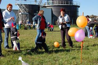 Oranžový rok 2007 s Jadernou elektrárnou Temelín
